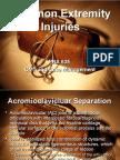 Common Extremity Injuries