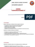Construcciones II