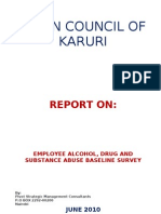 9. Alcohol and Drug Abuse Survey