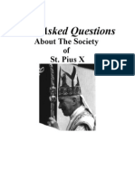 Most Asked Questions Sspx