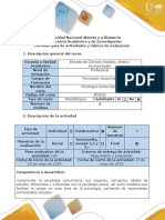 5-Guía de Actividades y Rúbrica de Evaluación - Fase 5 - Trabajo Final-Transferencia