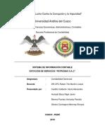 Sistema de Informacion Contable Petrogas