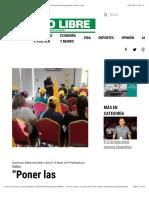 """""""Poner las finanzas en orden"""", la meta de Cortizo según Movimiento Progresista - Metro Libre"""