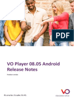 VOPlayer ReleaseNotes Android