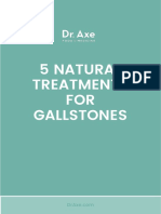 5 Natural Treatments for Gallstones