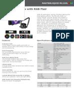 Product Sheet - MasterLiquid ML120L RGB (1)
