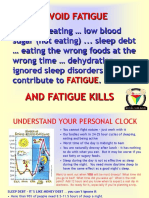 FATIGUE KILLS.pps