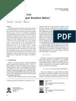 Analysis of Motor Loss in Permanent Magnet Brushless Motors