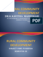 Rural Community Development