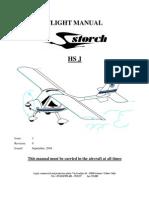 Flight Manual Storch HS J