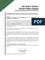 Informe de Preparacion de Aumento de Capital