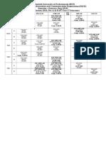 Class Routine Final 13.12.18