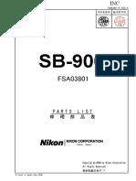Manual de compoponentes Flash NIKON SB900