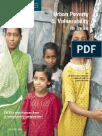 Urban Povert Vulnerability