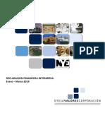 Informe financiero Nyesa
