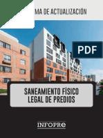 Programa de Actualización en Saneamiento Físico Legal de Predios