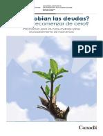 Consumer Bankruptcy Brochure Spanish