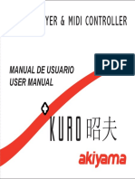 Manual Akiyama Kuro