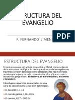 estructura del evangelio San Marcos