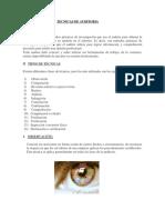 Tecnicas de Auditoria - Auditoria 2