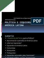 Clase 6 Polìtica e  izquierdas en América Latina 28 de marzo de 2019 (1).ppt