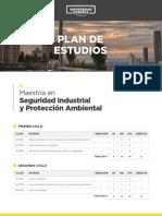 Plan de estudios Maestria Seguriad Industrial