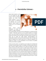 Ferminita Gómez (Oshabí)