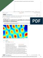 Hallada la razón de la pérdida de orientación espacial asociada al alzhéimer.pdf