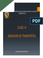 Ingeniería de Transportes c14-2018ii