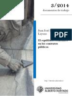 Martinez - El Equilibrio Economico en Los Contratos Publicos