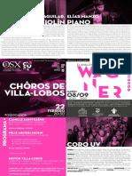 OSX CHOROS VILLA-LOBOS