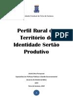 Publicação Perfil Rural Sertão Produtivo
