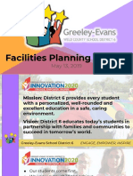 District 6 Facilities Planning Presentation - Bond 5.13.19