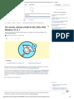 Ver Versión, Edición y Build de ISO, USB o DVD Windows 10, 8, 7