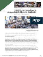 Society in Crisis_ Aplicando Uma Cosmovisão Bíblica No Ocidente - Darrow Miller and Friends