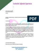 Carta de Despido Juan Carlos
