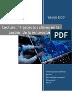 Lectura- Tecnologia e Innovacion Empresarial