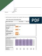 Answer Sheet energie & process