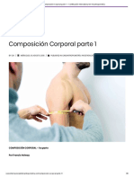 Composición Corporal parte 1 – Certificación International en Kinantropometría