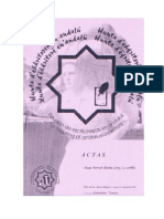 Actas del I encuentro de escritores en andaluz (2002)