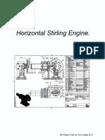 Drawings Horizontal Stirling Engine