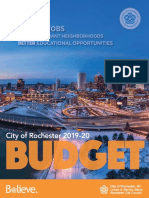 City of Rochester FY20 Proposed Budget