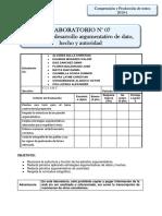 LABORATORIO 07 Argumento de dato, hecho y autoridad.pdf