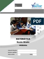 Prueba de Matematica Sexto de Primaria