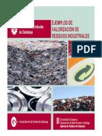 Ejemplos de Valorizacion de Residuos