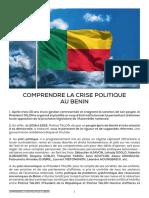 ►Comprendre La Crise Politique Au Bénin.
