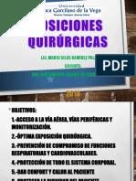 Posiciones Quirurgicas - Lic. Mario