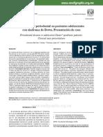 ENFERMEDAD PERIODONTAL PCIENTES ADOLOSCENTE