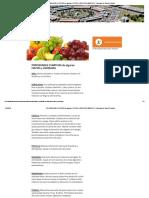 Propiedades Curativas de Algunas Frutas y Verduras