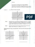 Dominio y Rango de Funciones (Hoja de Trabajo 2)